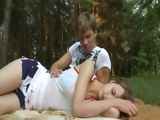 Beatas forest dream and anal teasing