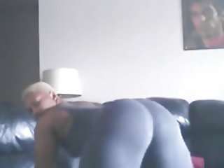 Thick Black ASS Squats Twerks Ameman