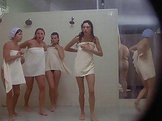 Porkys Voyeur gloryhole shower scene solo girls