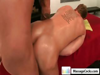 Massagecocks Latin Masseur Cum Massage