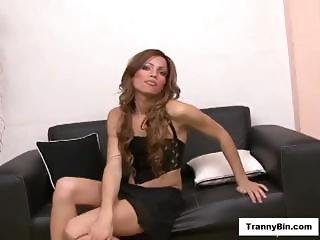 Sexy Small Tranny Bottomed