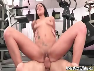 Cute big ass Latina girl enjoys a good part6
