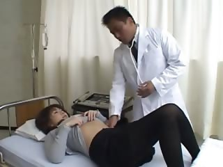 asian doctor and asian butthole