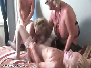 Mature women go crazy getting their part4