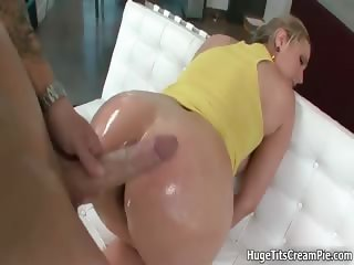 Busty blonde slut goes crazy sucking part5