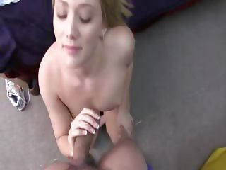 Hot blondie girl fucking with friend