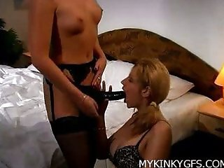 Sexy Lesbians At Home