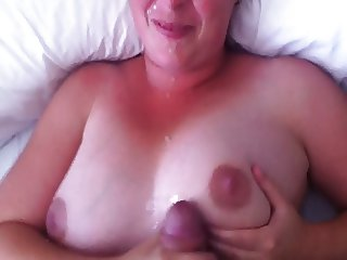 Slow Motion Handjob Facial