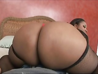 Ebony BBW Amber Swallows