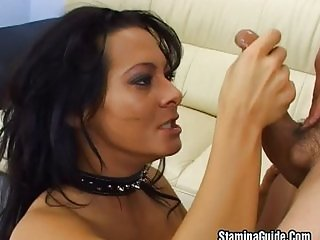 Sandra is horny and wants it hard