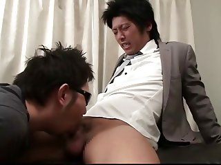 Handsome sports gays sex in bed