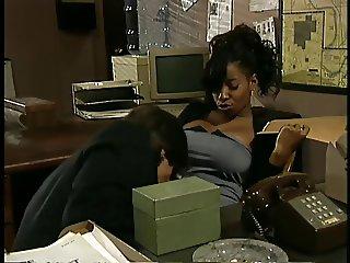 Vanessa Blue Busty Black Babe Anal