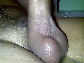 Me taking bath