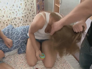 Russian teen insane fucking in the all holes