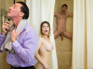 Cuckold wife double drilled hard
