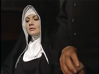 Group sex orgy with Catholic nuns longing for anal pleasure