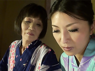 Asian granny will teach you where your clit is and how to lick it