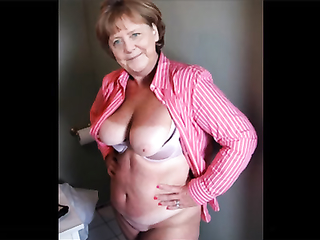 Who wants to see naked Angela Merkel? Watch it!