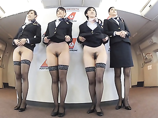 Japanese stewardess